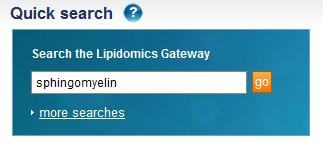 LIPID MAPS Lipidomics Gateway