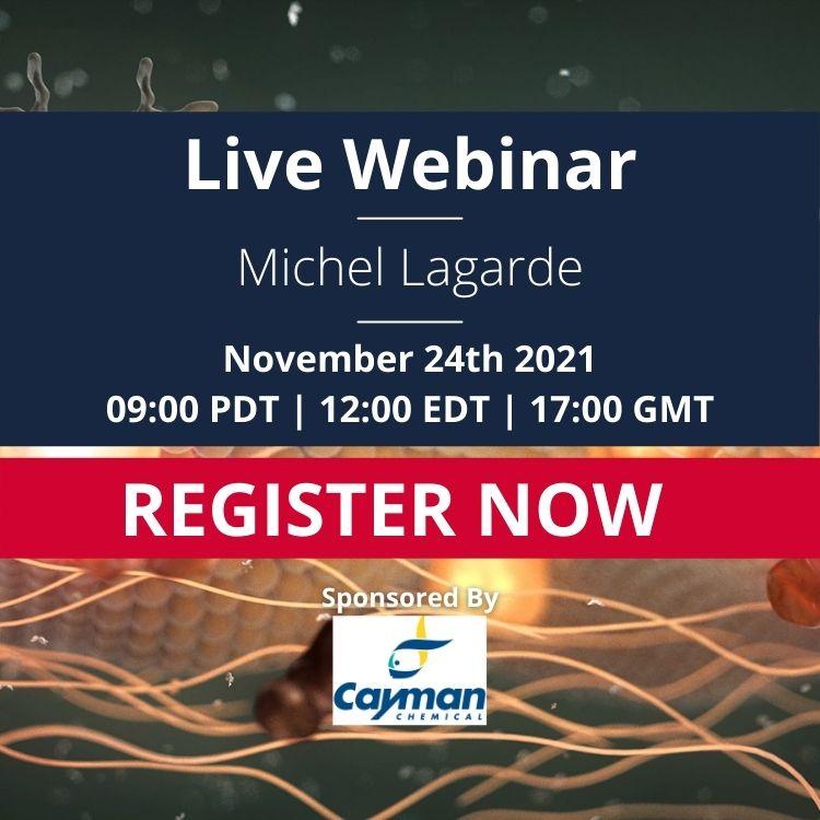 Advert: Michel Lagarde Live webinar